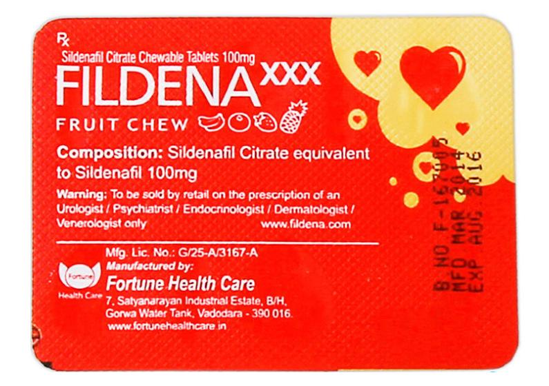 Fildena XXX 100mg